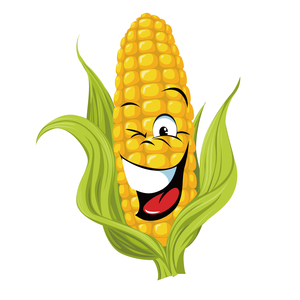 On the cob real. Vegetables clipart corn