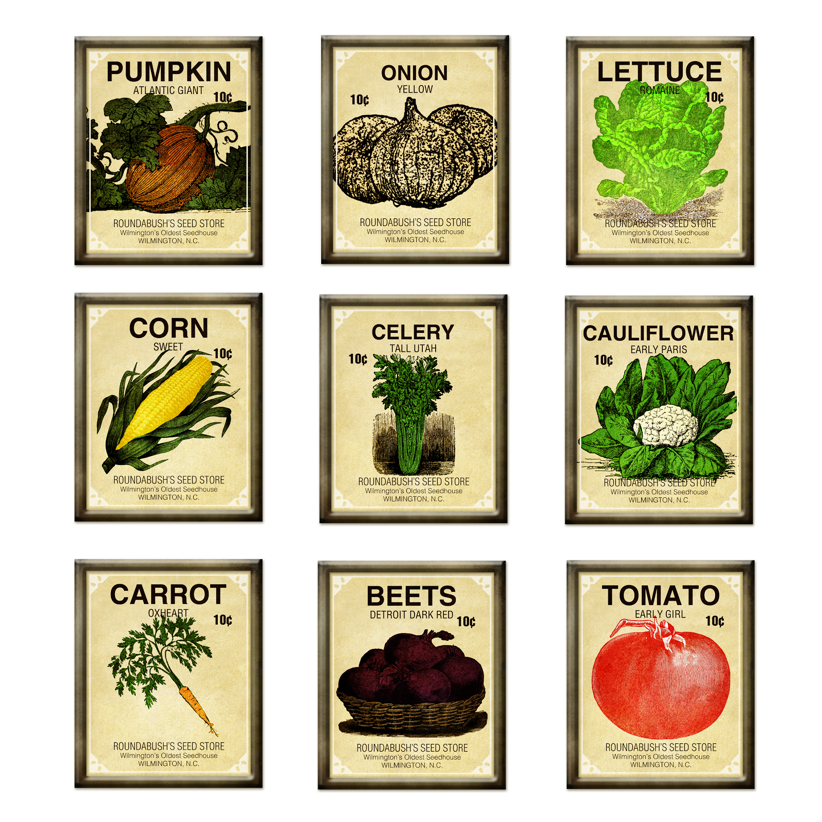 Gardening clipart bag seed. Vintage packet template google