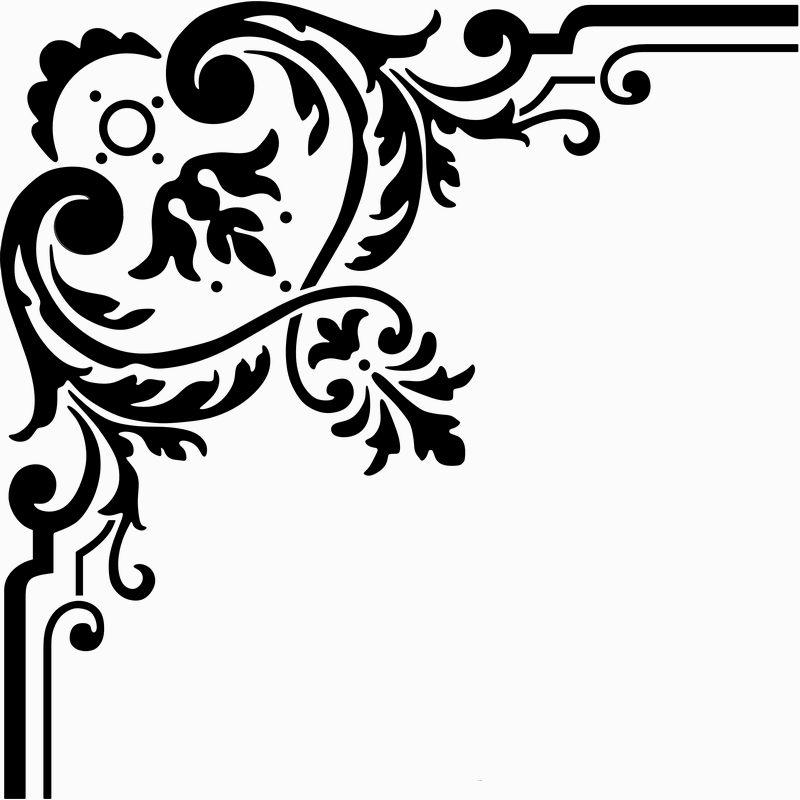 Free designs cliparts download. Borders clipart corner