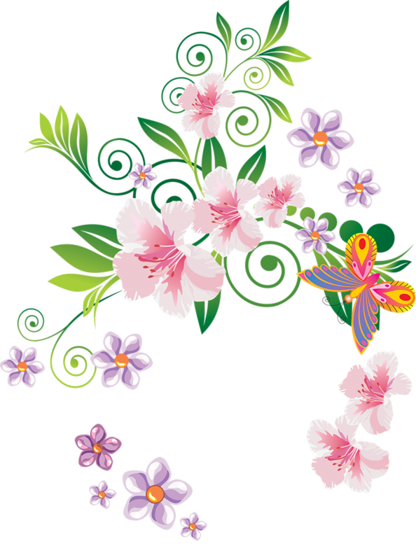 Flowers tube png everywhere. Eggs clipart watercolor