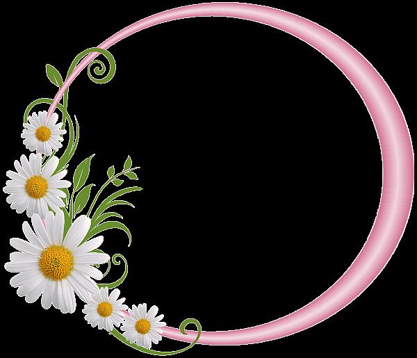 daisies clipart monogram