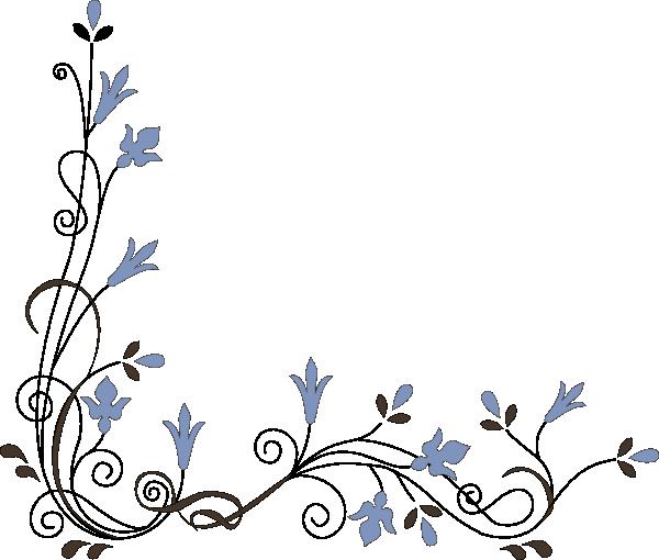 Flower corner png. Free cliparts download clip