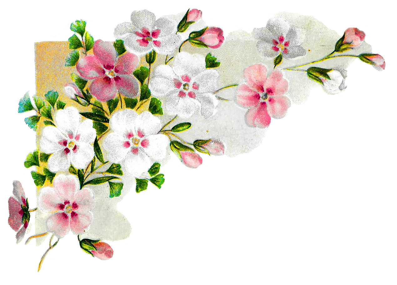 Craft clipart flower. Antique images royalty free