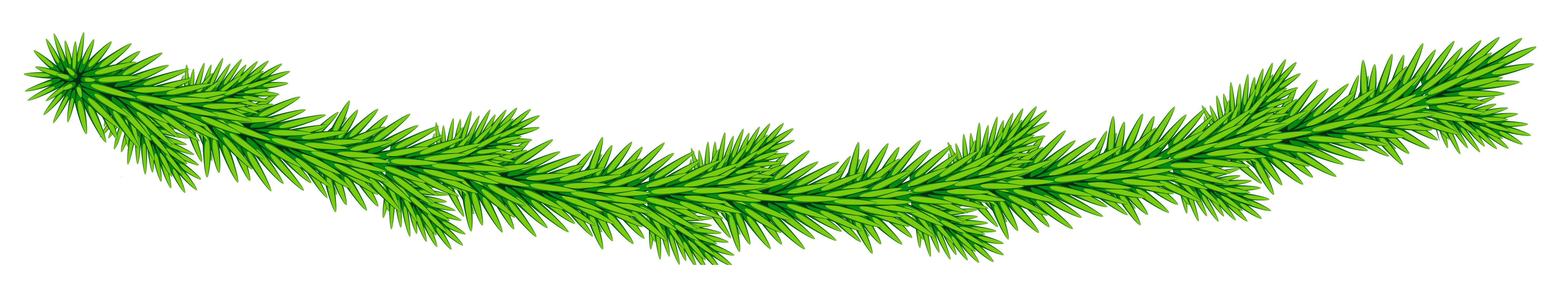 Transparent christmas decorative gallery. Garland clipart green garland