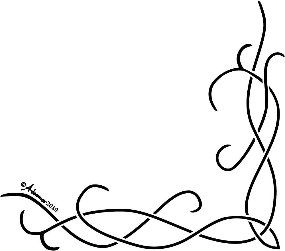 Corner celtic pattern by. Lace clipart knot