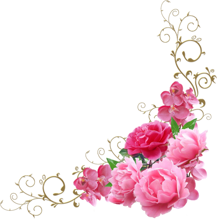 Forgetmenot peonies. Peony clipart floral arch