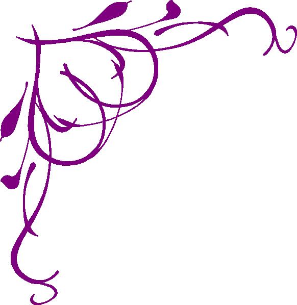 Grape clipart corner. Purple heart clip art