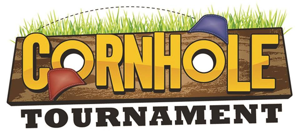 Cornhole clipart. Tournament at th of