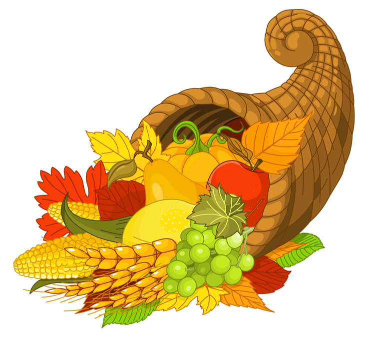 Thanksgiving gallery yopriceville high. Cornucopia clipart