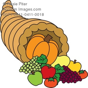 Royalty free illustration of. Cornucopia clipart