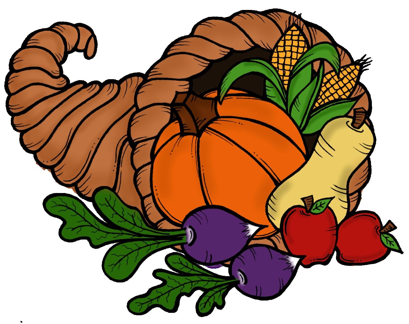 Best of thanksgiving . November clipart cornucopia