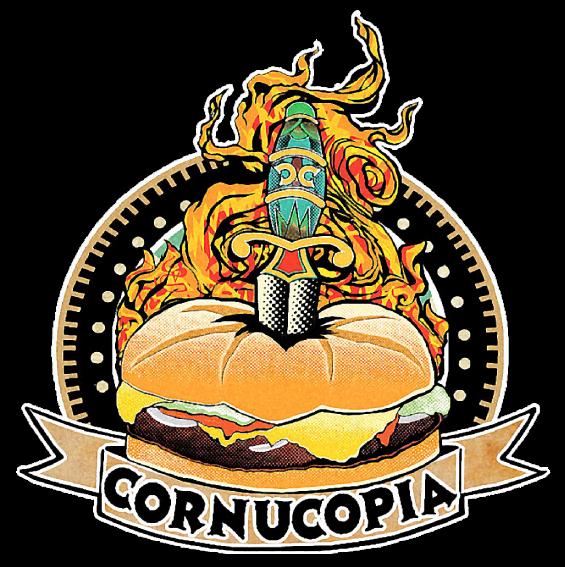 Who we are cornucopia. Hamburger clipart abundance