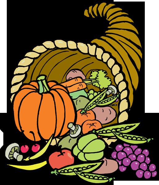 Cornucopia clipart plenty. Events thanksgiving marathon