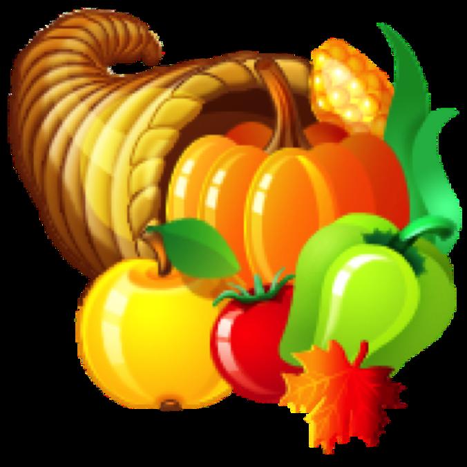 November clipart cornucopia. Living in franklin