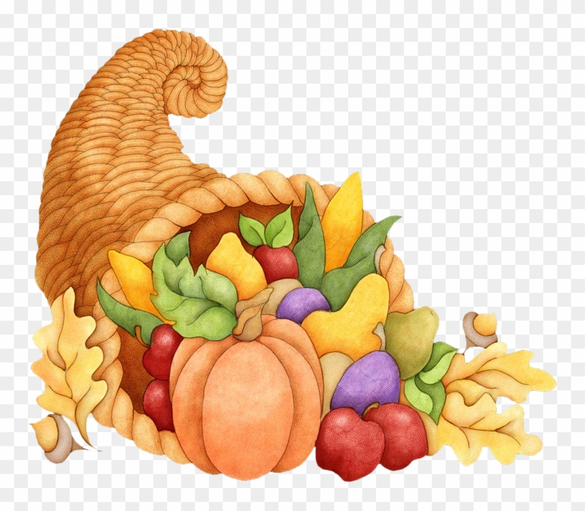 Png free . Cornucopia clipart thanksgiving dinner