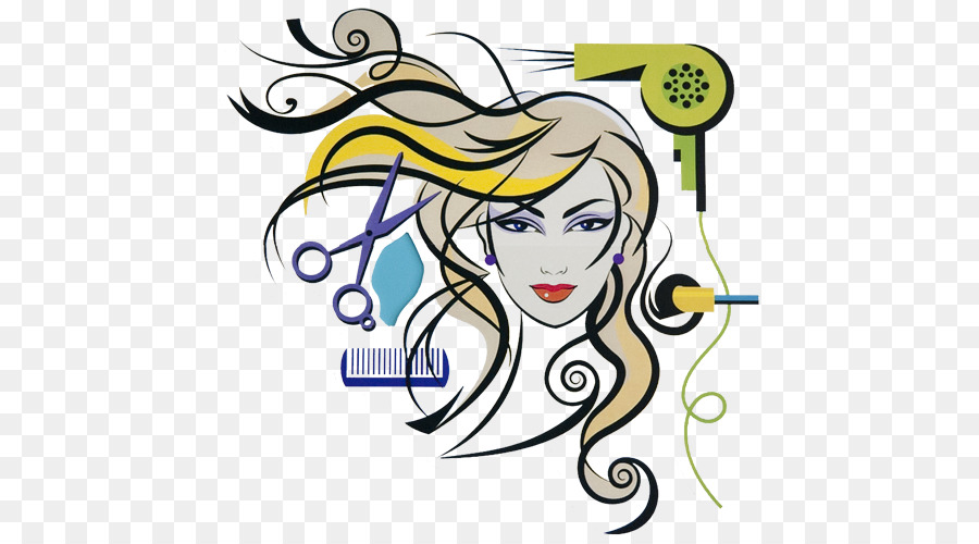 Kreative cosmetology institute parlour. Beauty clipart cosmetologist