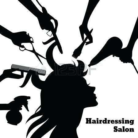Cosmetology salon concept with. Beauty clipart cosmetologist