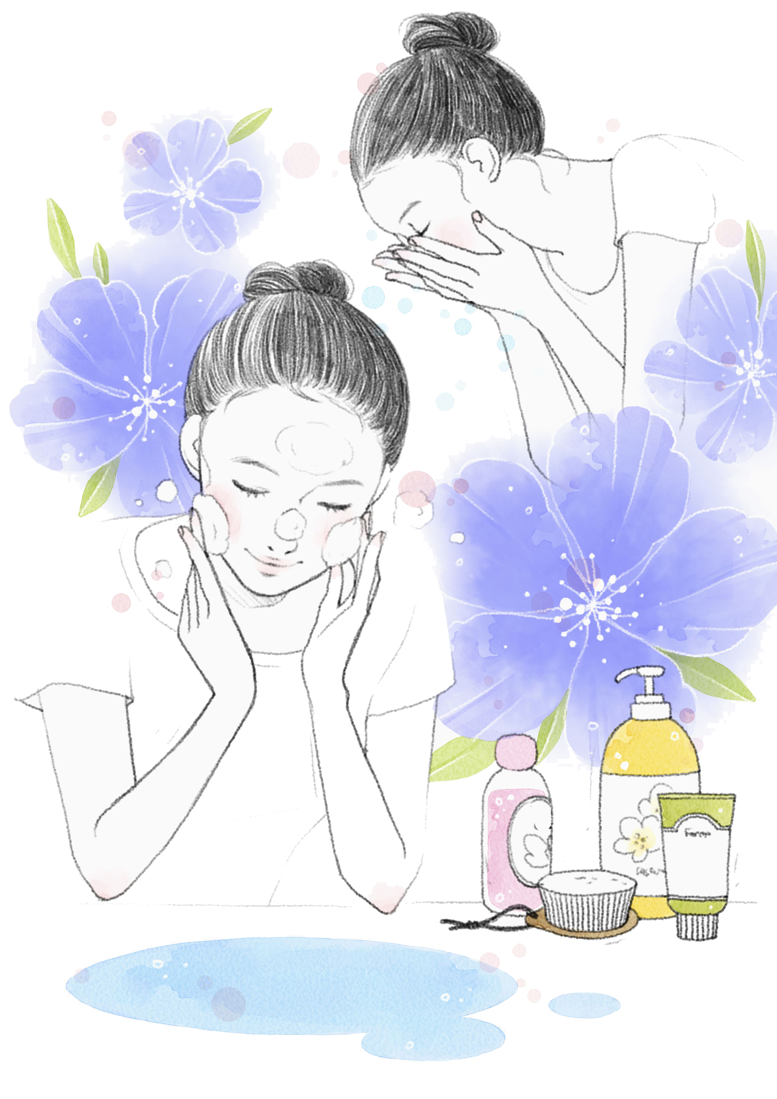 cosmetology clipart beauty care