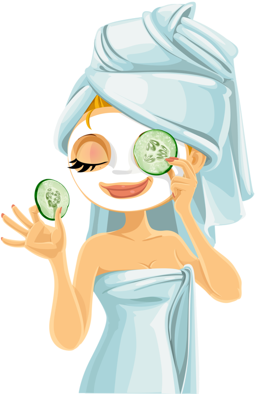 Massage clipart woman spa. Girl visit site for