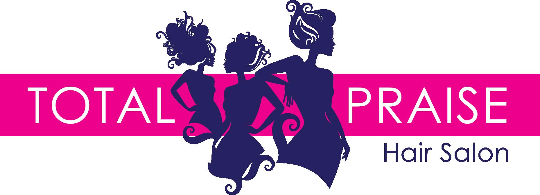 Cosmetology clipart beauty shop. Total praise salon logo