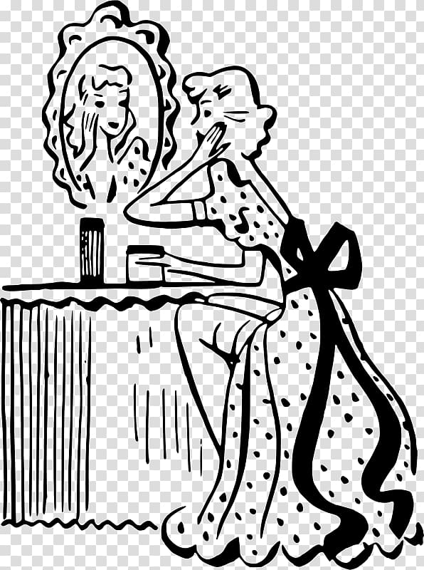 Cosmetology clipart black and white. Beauty parlour pageant beautiful