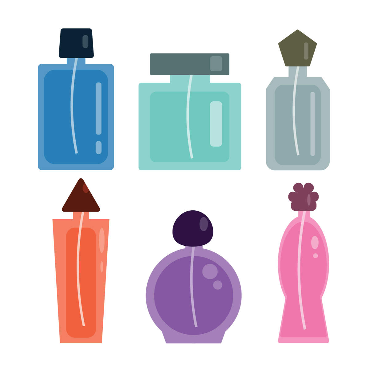 Crem factory shop beauty. Perfume clipart toiletries