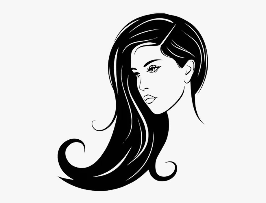 Cosmetology drawing perm salon. Hairdresser clipart hair extension