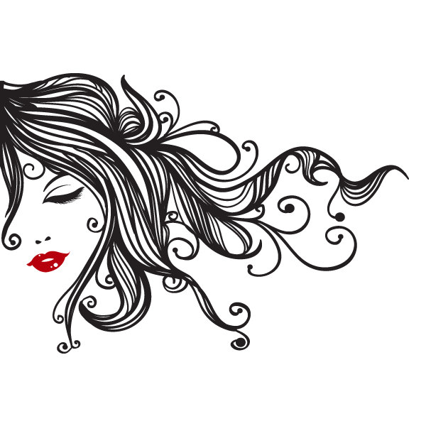 Salon borders google ladies. Beauty clipart hair design
