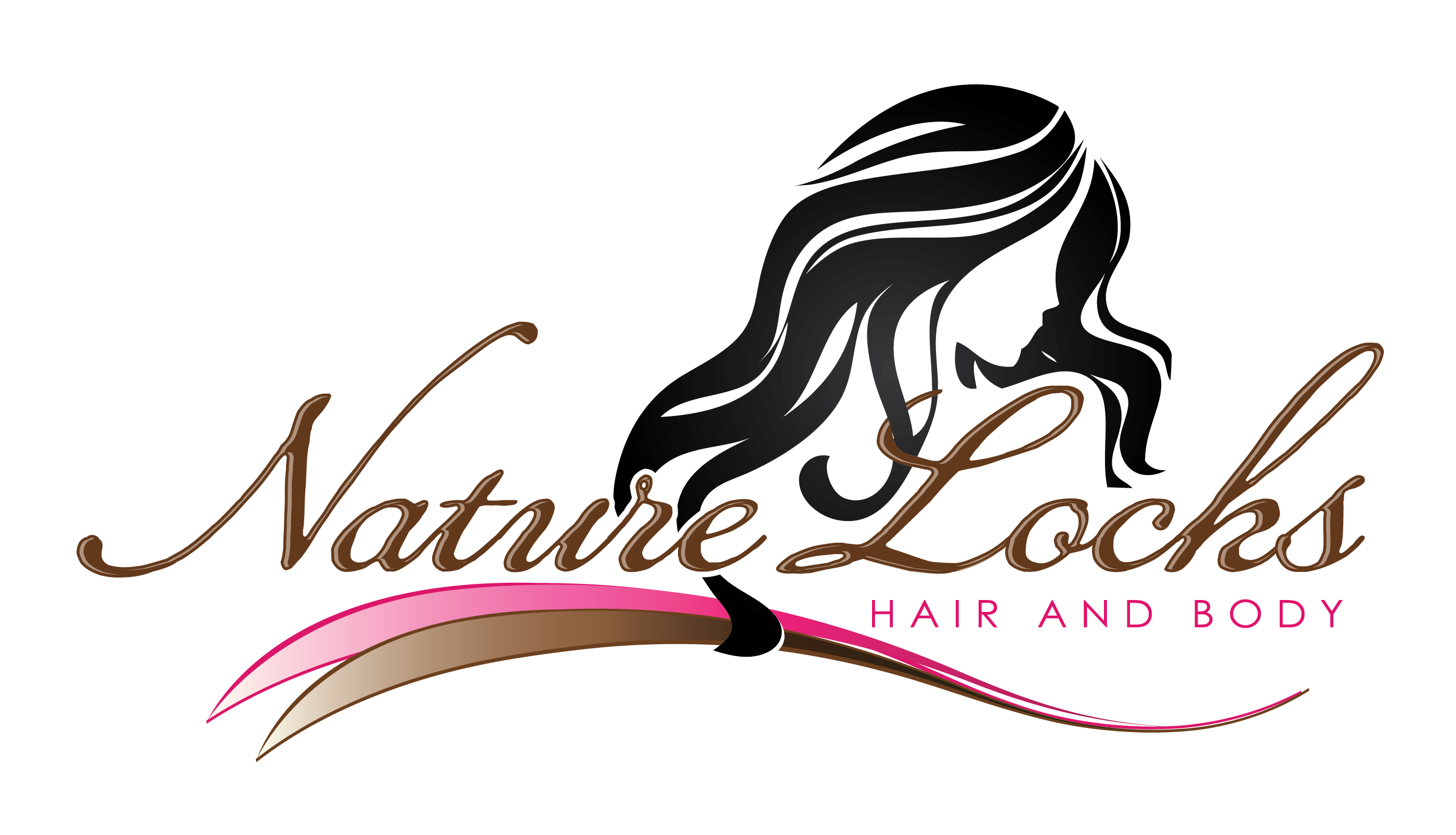 Cosmetology clipart hair weave. Elegant extensions logo and