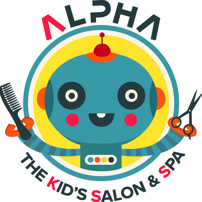 Alpha the kids salon. Manicure clipart kid