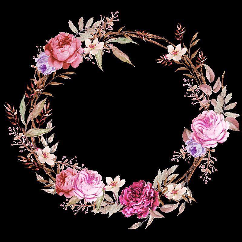 Imagens em png para. Floral clipart flower headband