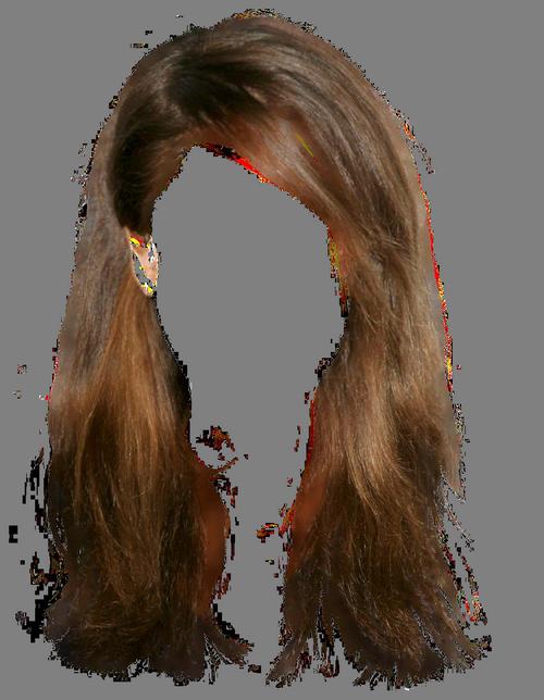 Wet clipart wig.  ab a e