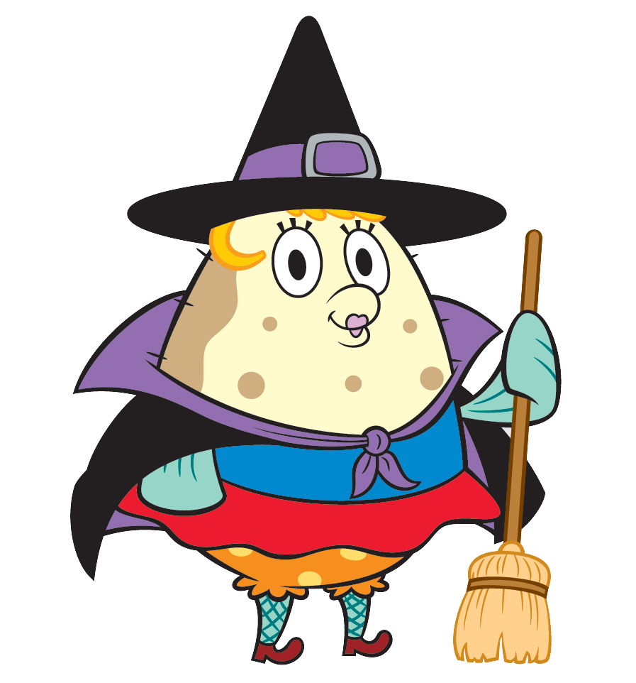 Costume clipart character. Image spongebob squarepants mrs