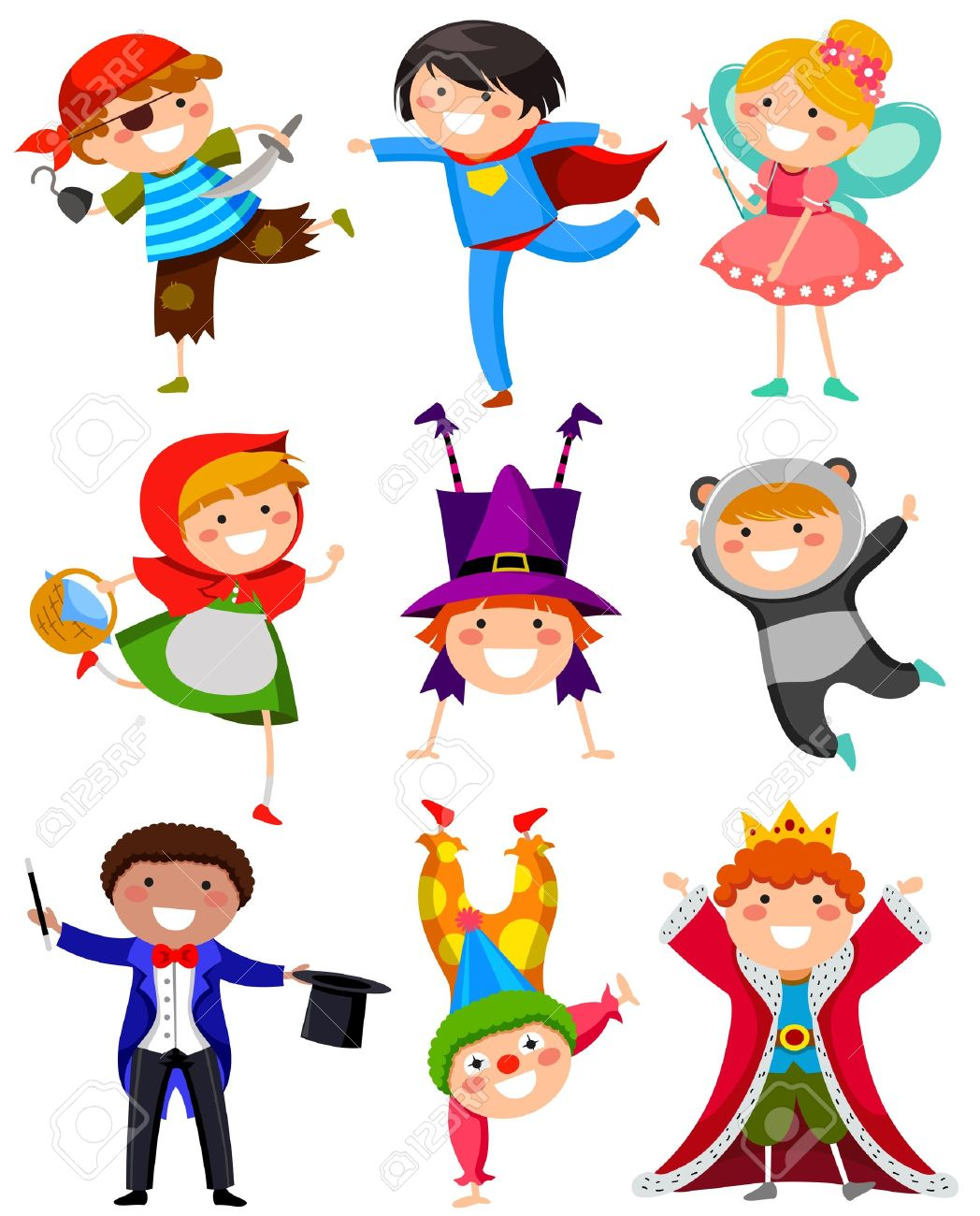 Free download best on. Costume clipart children's