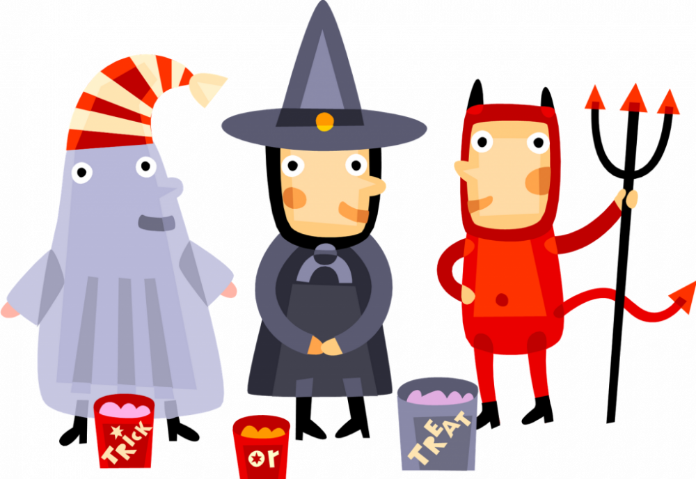Halloween party city of. Costume clipart children's
