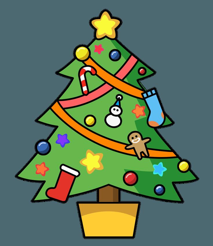 Joy clipart christmas tree. Free at getdrawings com