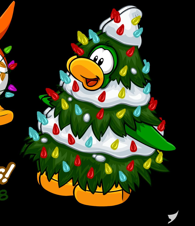Image happy holidays postcard. Costume clipart christmas tree