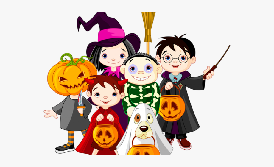 Costume clipart clip art. Trick or treat halloween