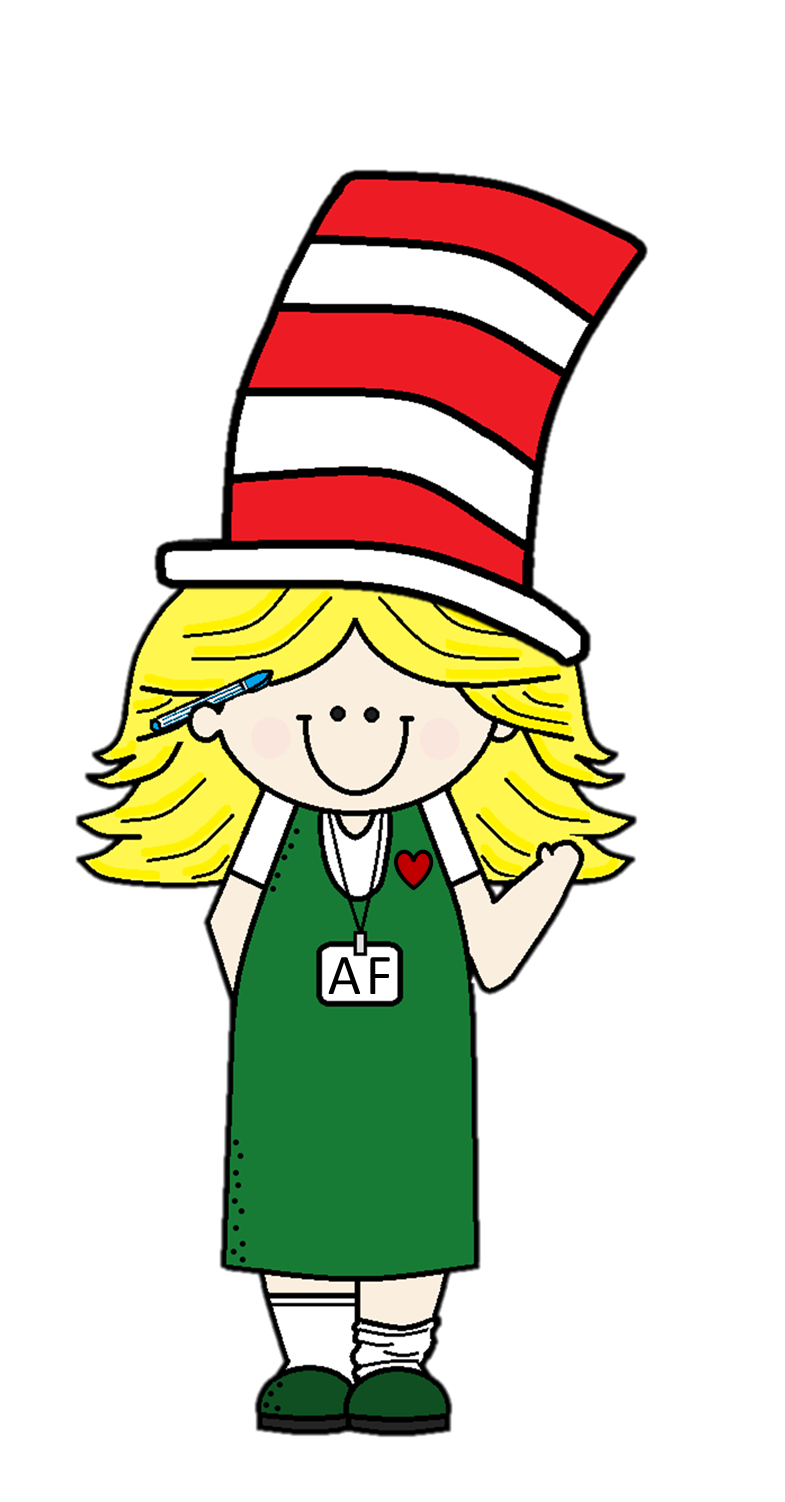 Hat clipart camping. Dr seuss black and