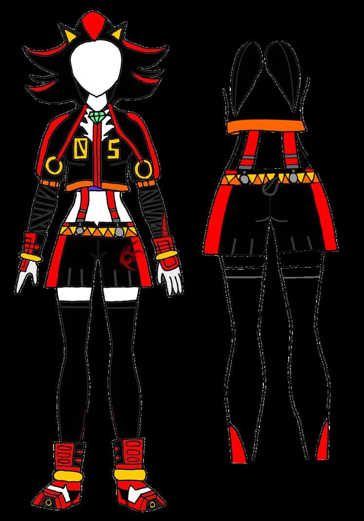 Costume clipart costume design. Boom comes the shadow