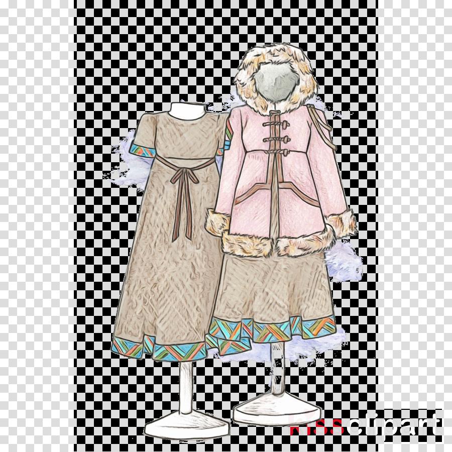 Costume clipart costume design. Cartoon outerwear fashion illustration