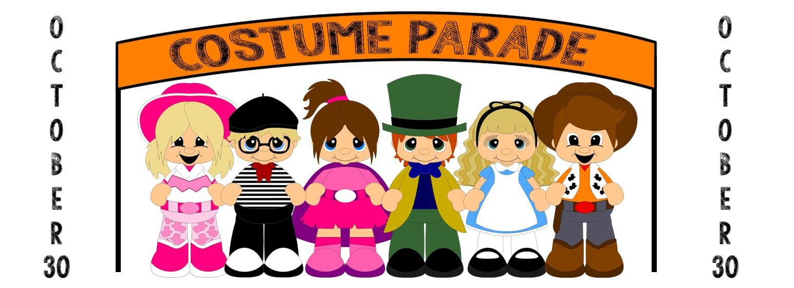 Costume clipart costume parade. First baptist church children