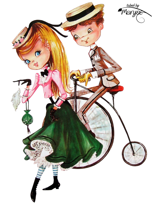 Psp tubes cr ations. Couple clipart shopping