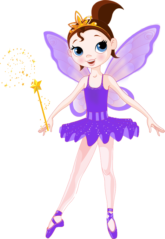 Exchanges the costume fairy. Fairies clipart purple