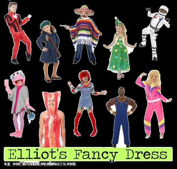 Elliott s is up. Costume clipart fancy dress