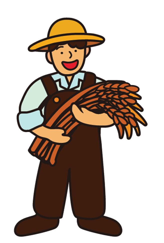 grains clipart wheat farming