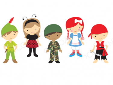 Dress as your favourite. Costume clipart favorite character day