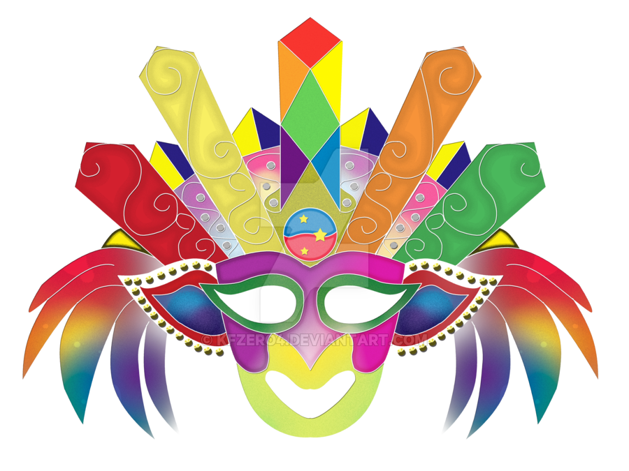 collection of masskara. Festival clipart kites