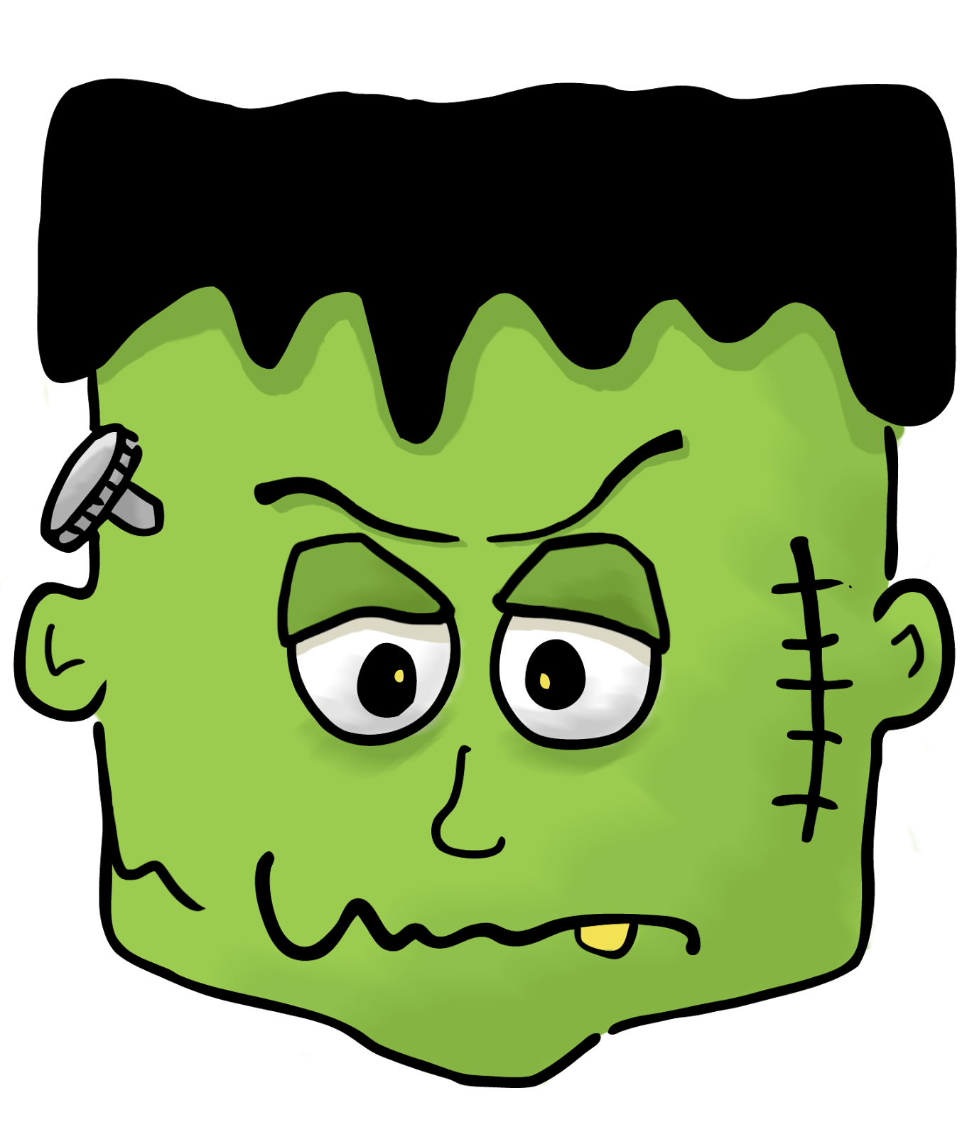 Storybookstephanie friday october his. Foot clipart frankenstein