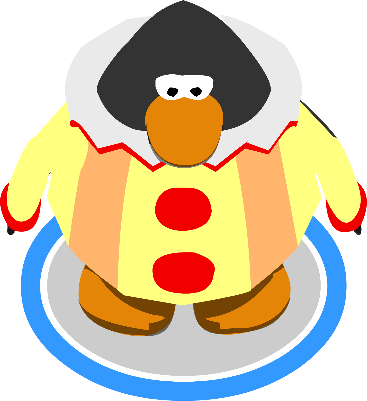 Costume clipart game. Image clown in png